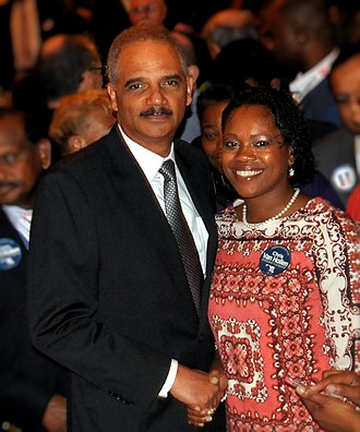 Eric Holder - Holder at the 2016 Democratic National Convention