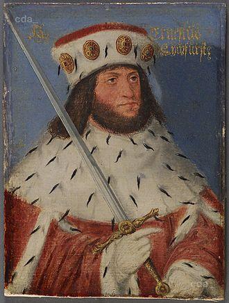 Ernest, Elector of Saxony - Image: Ernst Kurfürst von Sachsen, 1441 1486 (AT KHM GG4795)