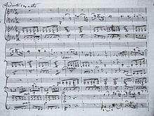 Klaviertrio Es-Dur op. 100 (D 929), 2.Satz (Autograph) (Quelle: Wikimedia)