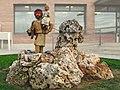 Escultura de San Cristobal con funtecilla de jardin, pero en donde??? *Fonolleres (Lerida) (11844122994).jpg