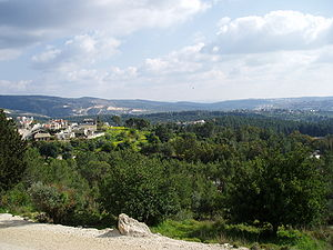 Jewish National Fund - Eshtaol Forest planted by JNF