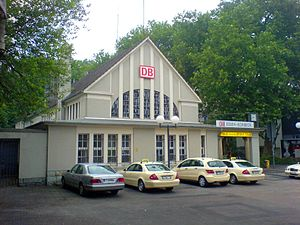 Essen-Borbeck-Mitte - Train station at the new market place