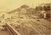 Estacao do Rossio station Lisboa Portugal 1886