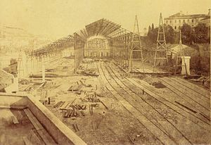 Estacao do Rossio station Lisboa Portugal 1886
