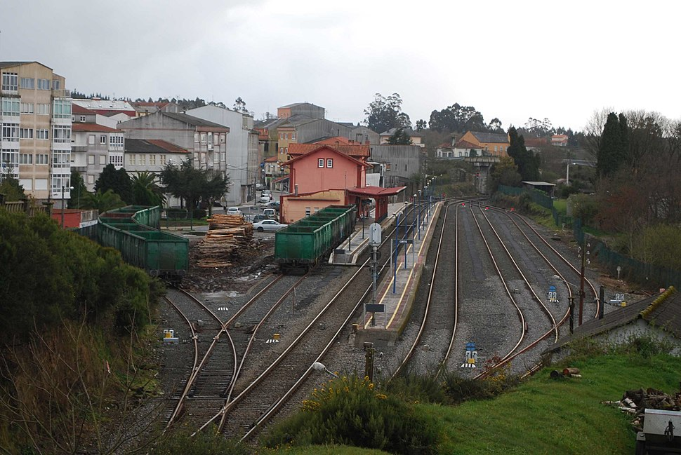 Estación de Curtis A Coruña Galiza