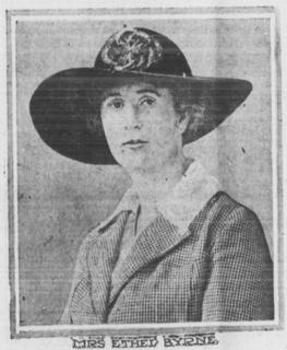 Ethel Byrne American nurse