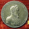 Etienne de laune, medaglia di enrico II di francia, 1552, arg..JPG