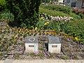 Európai Virágos Városok és Falvak versenye emléktáblák (1997, 2015), Fő tér, 2019 Siófok.jpg