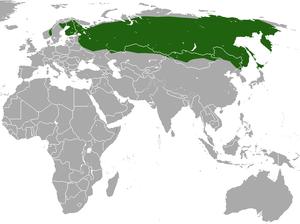 Eurasian least shrew - Image: Eurasian Least Shrew area