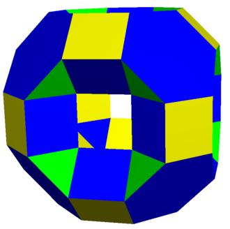 Truncated cuboctahedron - Image: Excavated truncated cuboctahedron 2