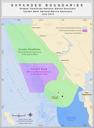 Greater Farallones National Marine Sanctuary - Image: Expansion 150514 v 17 (6)
