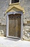 exterieur westgevel, ingang (portaal) - oud-valkenburg - 20264543 - rce