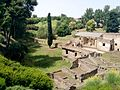 Exterior of the Suburban Baths at Pompeii (14429530620).jpg