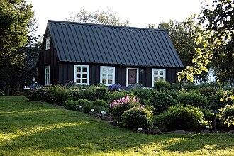 Akureyri Botanical Garden - South Side of the Eyrarlandsstofa