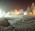 Fürstenau Mitteldorf mit Rauhreif, Weihnachten 2004.jpg