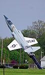 F-104 Starfighter gate guardian, the Museum of the US Air Forces, Dayton, Ohio. (27260642167).jpg