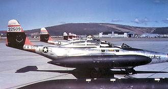 449th Fighter-Interceptor Squadron - 449th Fighter Interceptor Squadron Northrop F-89J Scorpions