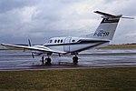 F-GCTR Beech King Air Air Jet CVT 27-02-87 (41994766315).jpg