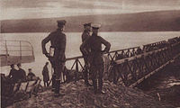 FM Mackensen on the Romanian side.