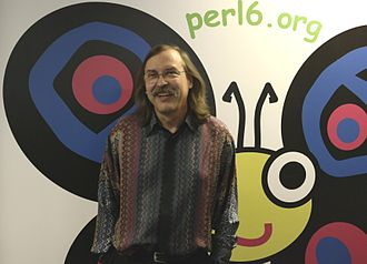 Perl 6 - Larry Wall and Camelia