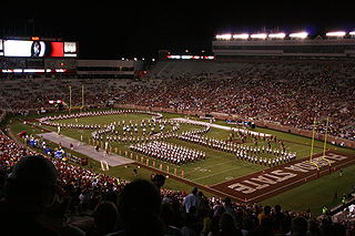 Marching Chiefs official marching band of the Florida State University