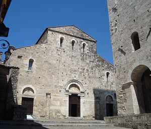Papal election, 1243 - Anagni Cathedral