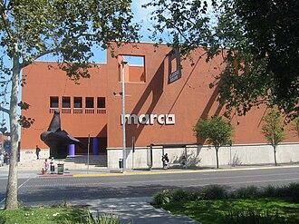 Museo de Arte Contemporáneo de Monterrey - Image: Fachada MARCO