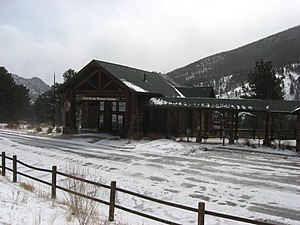 National Register of Historic Places listings in Rocky Mountain National Park - Image: Fall River Visitor Center