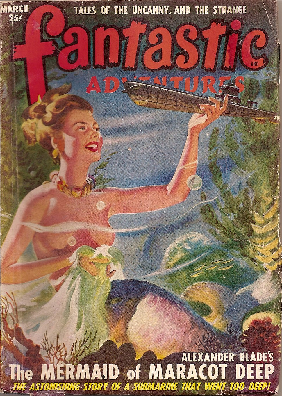 Fantastic Adventures 1949 Mar cover
