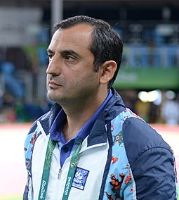 Farhad Mammadov at the 2016 Summer Olympics.jpg