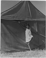 Farm Security Administration, migrant born in a pea picker camp near Stocklon, California - NARA - 196263.tif
