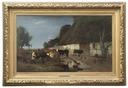Farmstead in Skåne (Anders Kallenberg) - Nationalmuseum - 18311.tif
