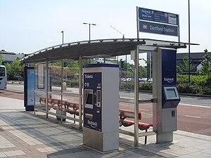 Fastrack (bus) - Fastrack Stop at Home Gardens, Dartford
