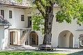 Feldkirchen Kirchgasse 37 Pfarrhof Hofansicht 06062019 7145.jpg