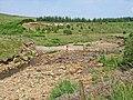 Fence across Kershope Burn - geograph.org.uk - 209036.jpg