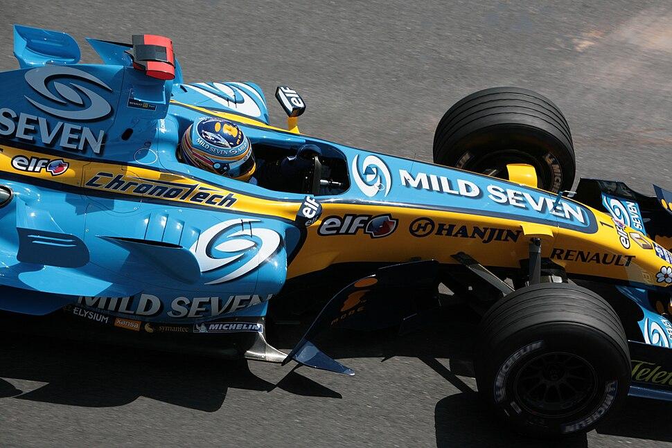 Fernando Alonso - Renault R26 - Monaco Grand Prix 2006