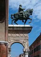 Monument to Niccolò III d'Este