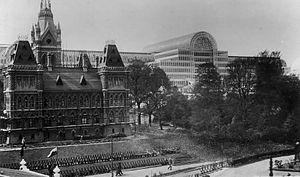 Festival of Empire - Canadian Building (replica of the original Centre Block in Ottawa