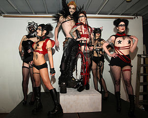 Fetish clothing designs by eve