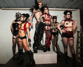 Fetish fashion Extreme or provocative clothing