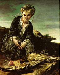 Das Mädchen mit dem toten Vogel