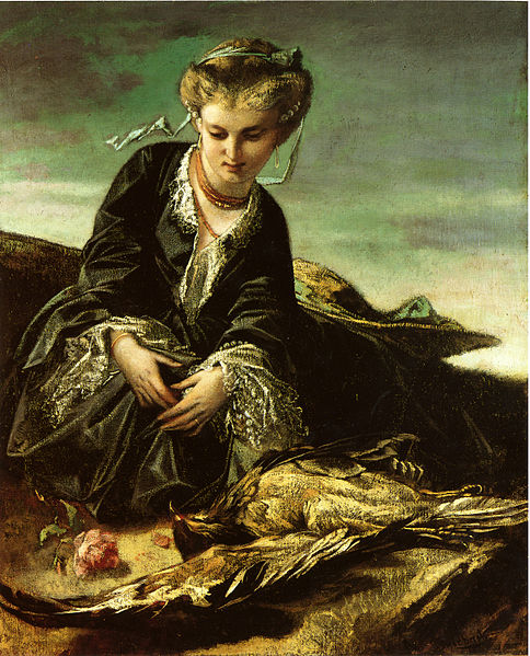 Image:Feuerbach Mädchen mit Vogel.jpg