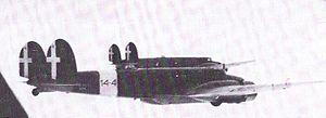 Fiat B.R.20 bombers in flight