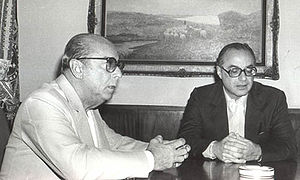 Paulo Maluf - Maluf with President João Figueiredo in the 1980s.