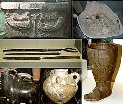 Findings from Mingachevir archaeological complex.jpg