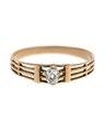 Fingerring av guld med briljant - Hallwylska museet - 110016.tif