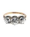 Fingerring av guld med briljanter - Hallwylska museet - 110022.tif