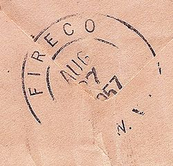 Fireco West Virginia Postmark