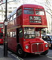 First London Routemaster bus RM1562 (562 CLT), heritage route 9, Aldwych, 8 April 2010.jpg