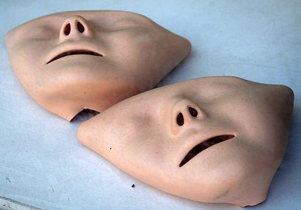 Masques d'entrainement.